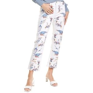 🆕MAJE Pia Mid Rise Floral Embroidered Jeans 36